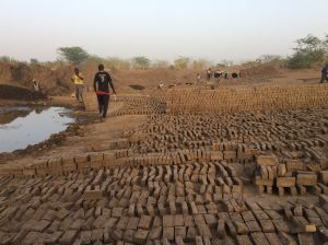 Brick factory at Botri
