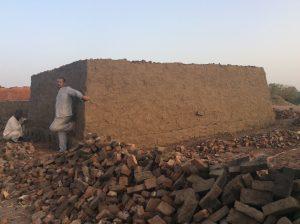 Brick kiln at Botri